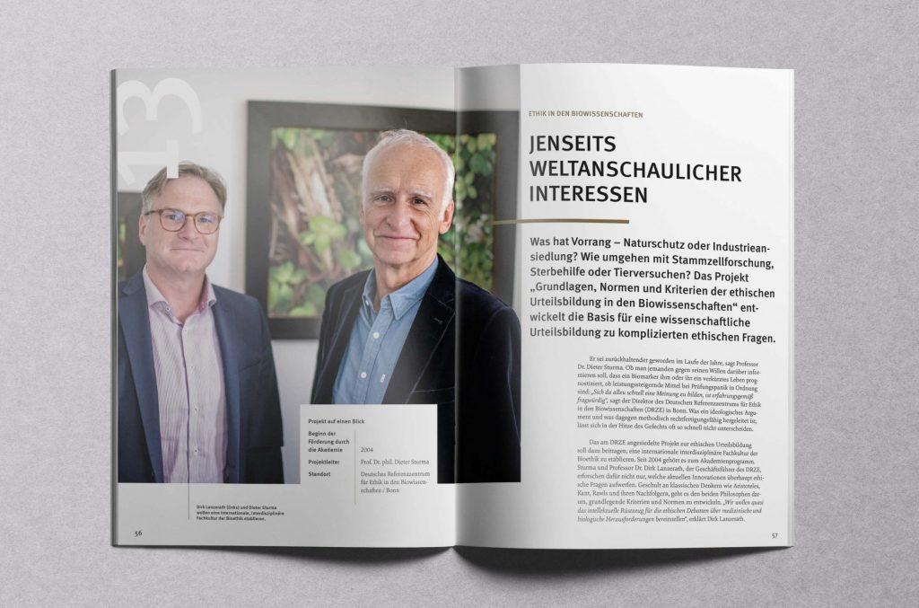 Ethik in den Biowissenschaften am DRZE in Bonn