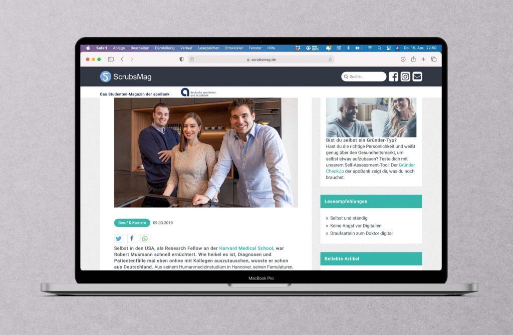 Geschichten aus der Community: Ärzte als Startup-Gründer
