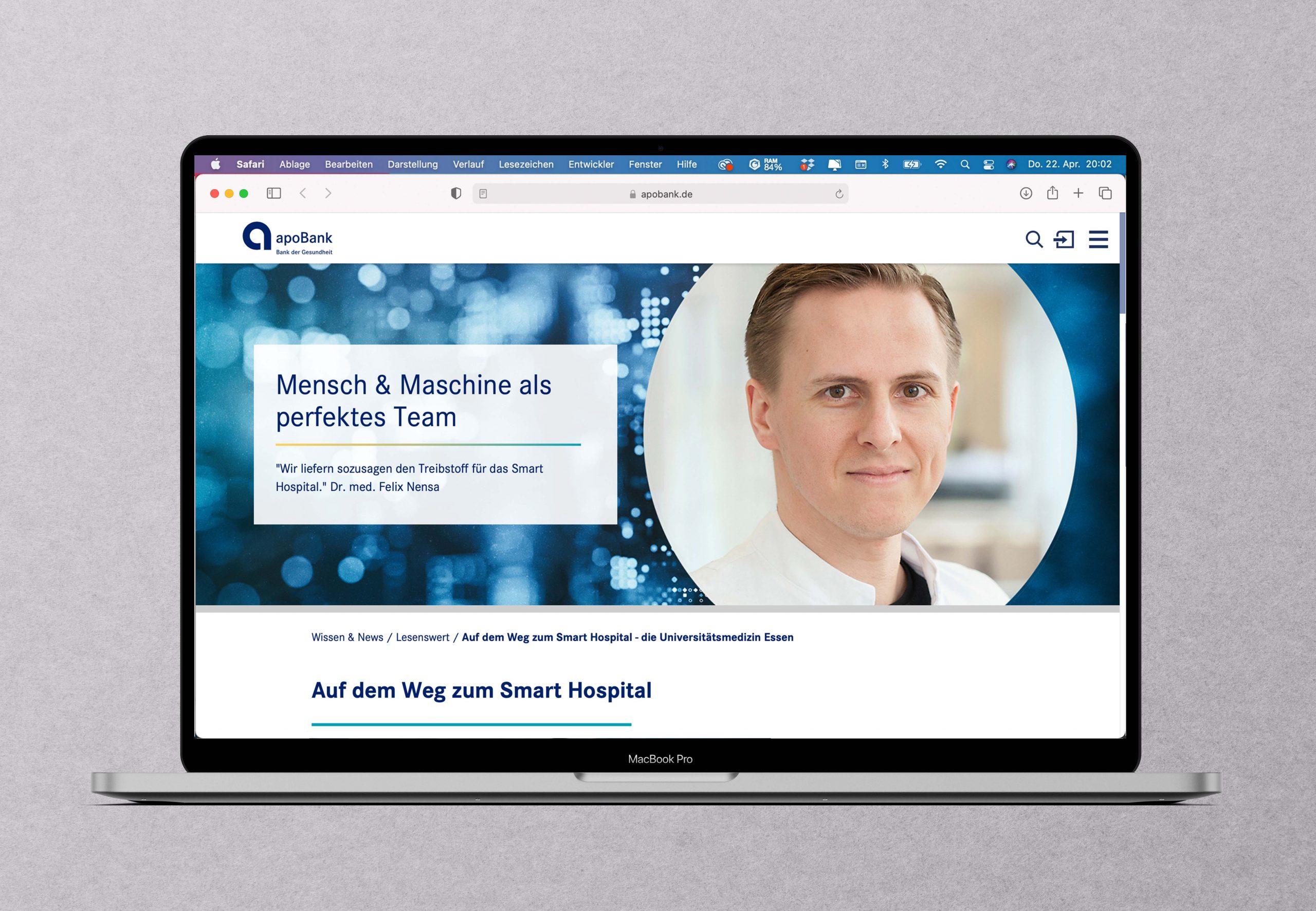 Momentaufnahme aus der technologischen Herzkammer einer Uniklinik: Interview mit einem führenden KI-Experten