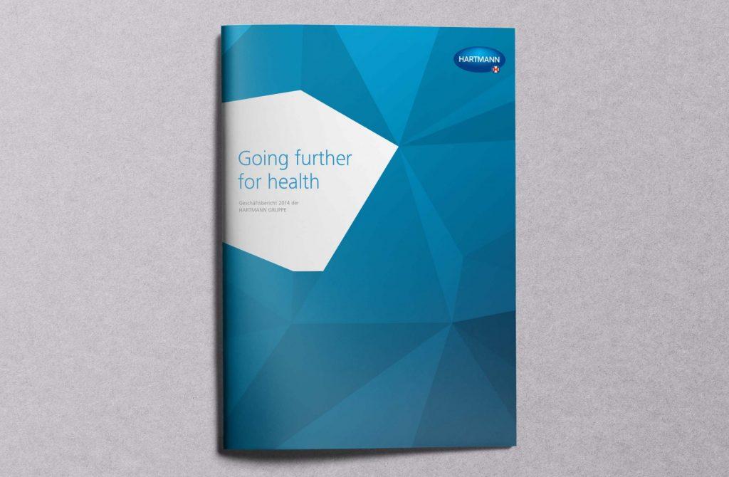 Pur und sachlich: Print-Geschäftsbericht 2014 der Hartmann Gruppe