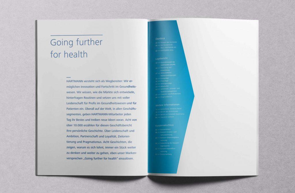 """Der Imageteil: Momentaufnahmen derer, die """"Going further for Health""""mit Leben füllen"""