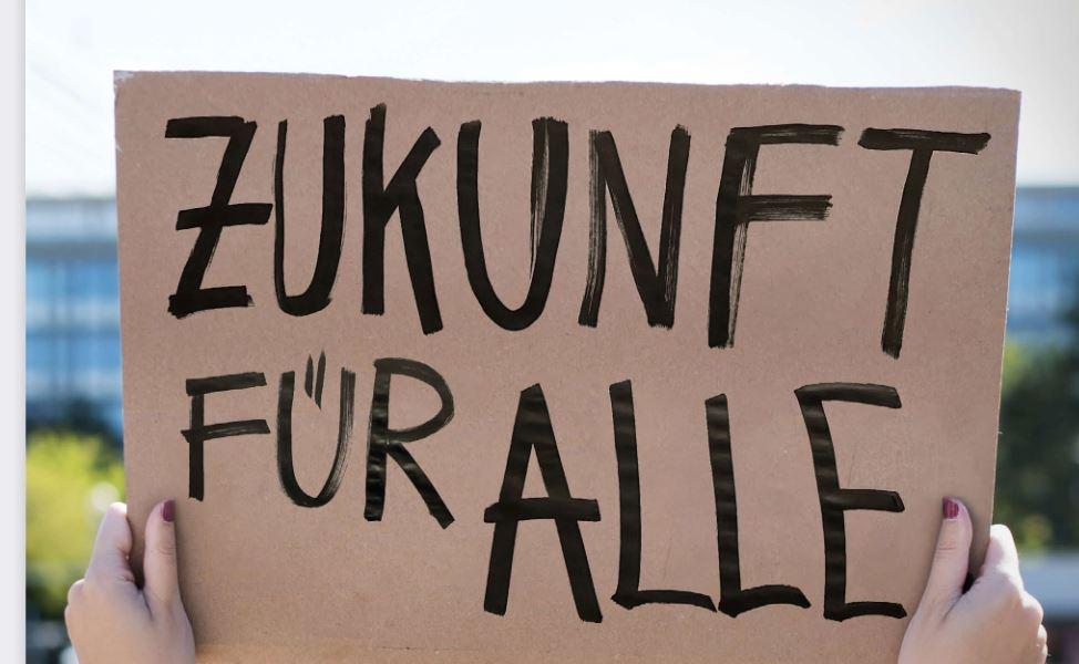 SPD-Plakat Zukunft für alle